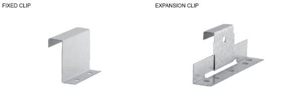 fixed clip and expansion clip