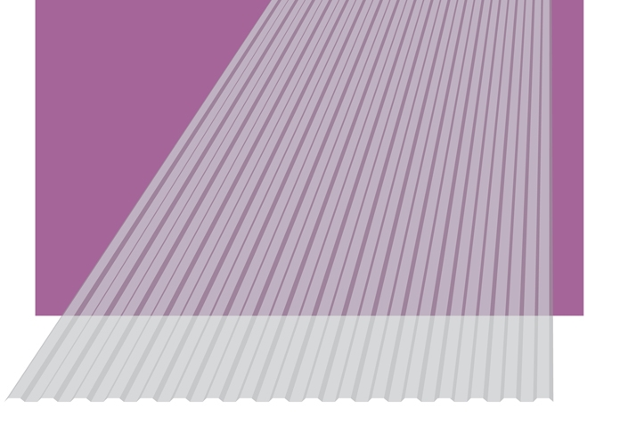 image of Profiled Polycarbonate Panels