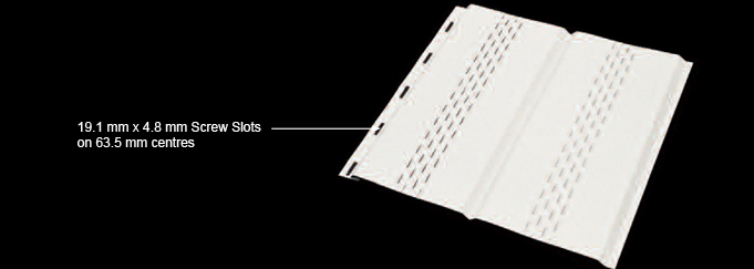 image of ICI Soffits - Stratus Perforatted Soffits