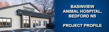 basinview animal hospital, bedford NS project profile